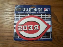 Cincinnati Reds MLB Automotive Grille Logo on the GOGO