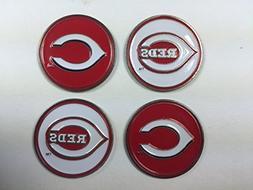 Cincinnati Reds MLB Golf Ball Markers 4-Pack