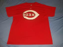 CINCINNATI REDS    MLB BASEBALL LARGE RED   MENS T  SHIRT