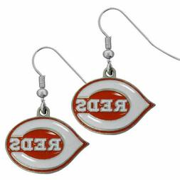 Cincinnati Reds MLB Dangle Ear Rings