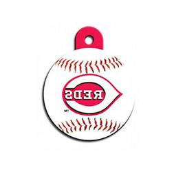Cincinnati Reds MLB Dog/Pet ID Tag--Custom Engraved--FREE SH