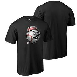Cincinnati Reds MLB Fanatics Branded Mascot Black T-Shirt