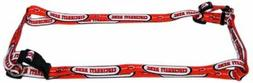 Cincinnati Reds MLB LARGE 1 Inch Adjustable Pet Harness