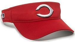 Cincinnati Reds MLB OC Sports Red Golf Sun Visor Hat Cap Adu