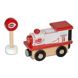 Cincinnati Reds MLB All Star Express Wooden Train Engine