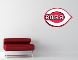 Cincinnati Reds MLB Wall Decal Art Vinyl Sticker Decor Baseb