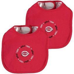 Cincinnati Reds Baby Fanatic Newborn & Infant Bib Two-Pack