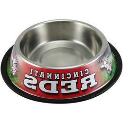 Cincinnati Reds Pet Bowl Dog Bowl Dog Food Dish (1 Bowl