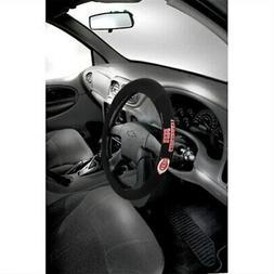cincinnati reds poly suede steering wheel cover
