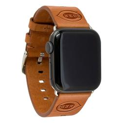 Cincinnati Reds Premium Leather Apple Compatible Watch Band