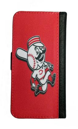 CINCINNATI REDS SAMSUNG GALAXY & iPHONE CELL PHONE CASE LEAT