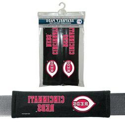Cincinnati Reds Seat Belt Cover Shoulder Pads MLB Auto Strap
