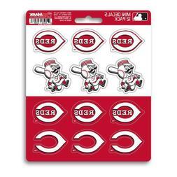 Cincinnati Reds - Set Of 12 Sticker Sheet