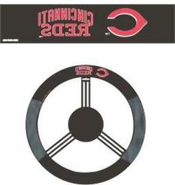 cincinnati reds steering wheel cover mesh