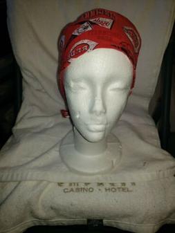 CINCINNATI REDS        Handmade SURGICAL SCRUB CAPS