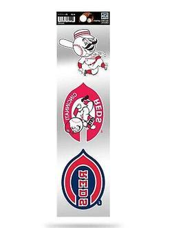 Cincinnati Reds Triple Retro Throwback Spirit Decals Sticker