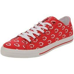 Cincinnati Reds Row One Victory Sneaker - Red