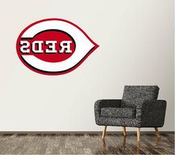 Cincinnati Reds Wall Decal Logo Baseball MLB Art Decor Stick