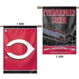 Cincinnati Reds WC Premium 2-sided 28x40 Banner Outdoor Hous