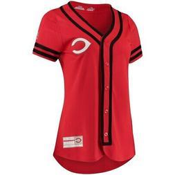 Cincinnati Reds Majestic Women's Absolute Victory Fashion Te