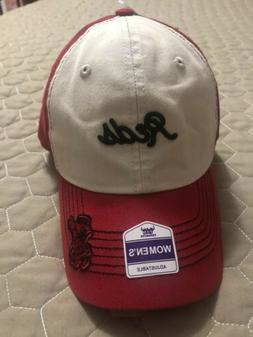 Cincinnati Reds Womens Adjustable Hat Cap Nwt Buckle Back