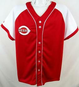 Cincinnati Reds Womens Plus Size 1X 2X or 3X Embroidered Jer