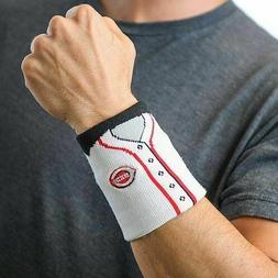 Fan Band MLB Jersey Wristband Wrist Sweat Band Embroidered D