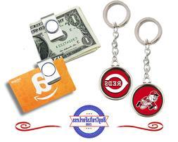 FREE DESIGN > CINCINNATI REDS - Money/Gift Card Clip or Keyr