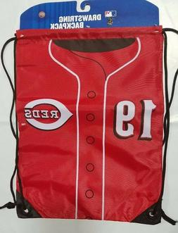 Joey Votto #19 Cincinnati Reds Jersey BackSack Drawstring gy