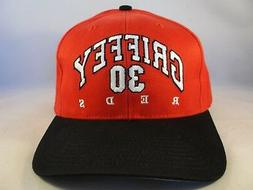 Ken Griffey MLB Cincinnati Reds Vintage Adjustable Strap Cap