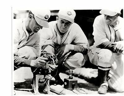 1940 s cincinnati reds team 8x10 photo