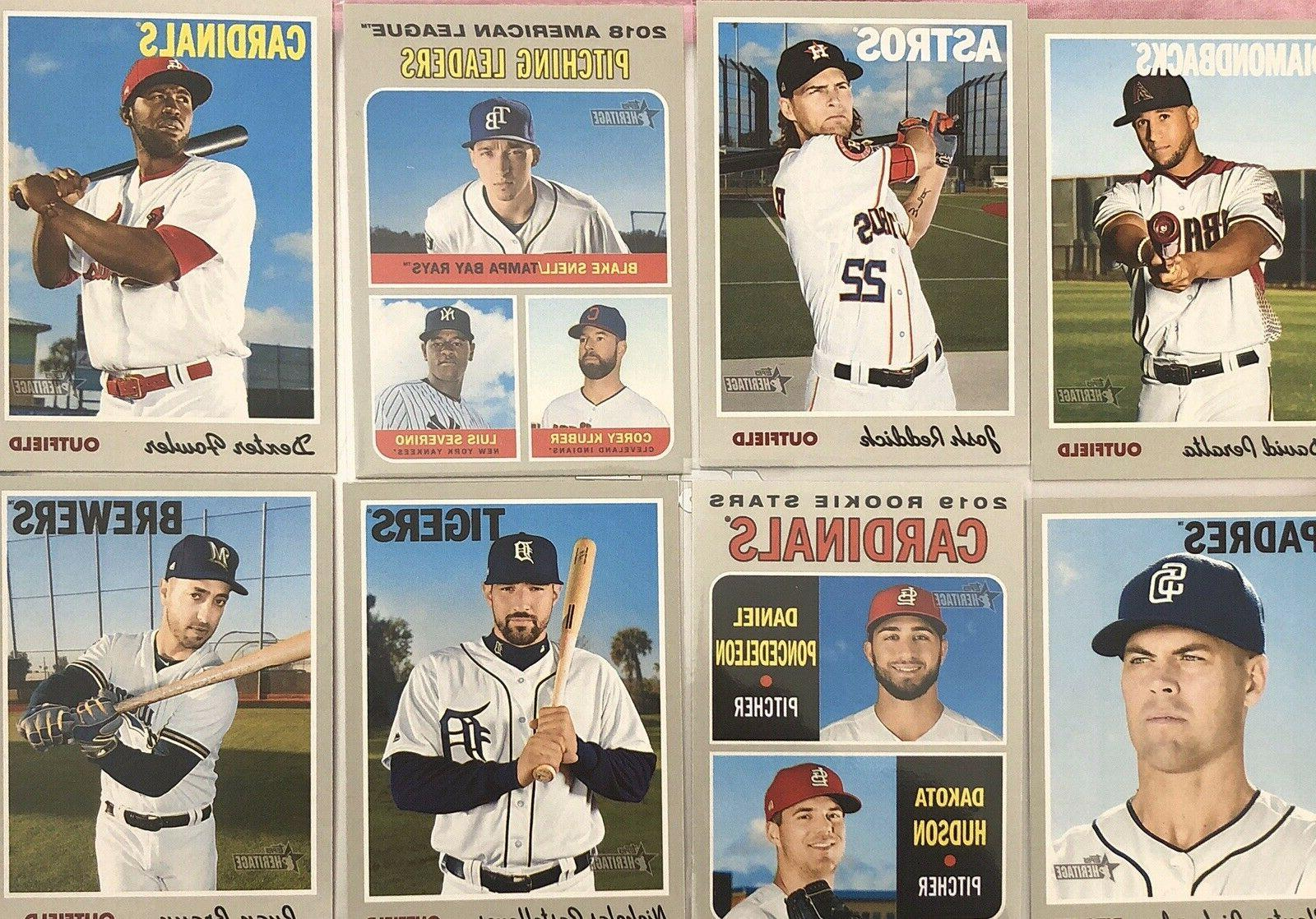 2019 HERITAGE SP, INSERT SINGLES PICK ***FREE SHIPPING***