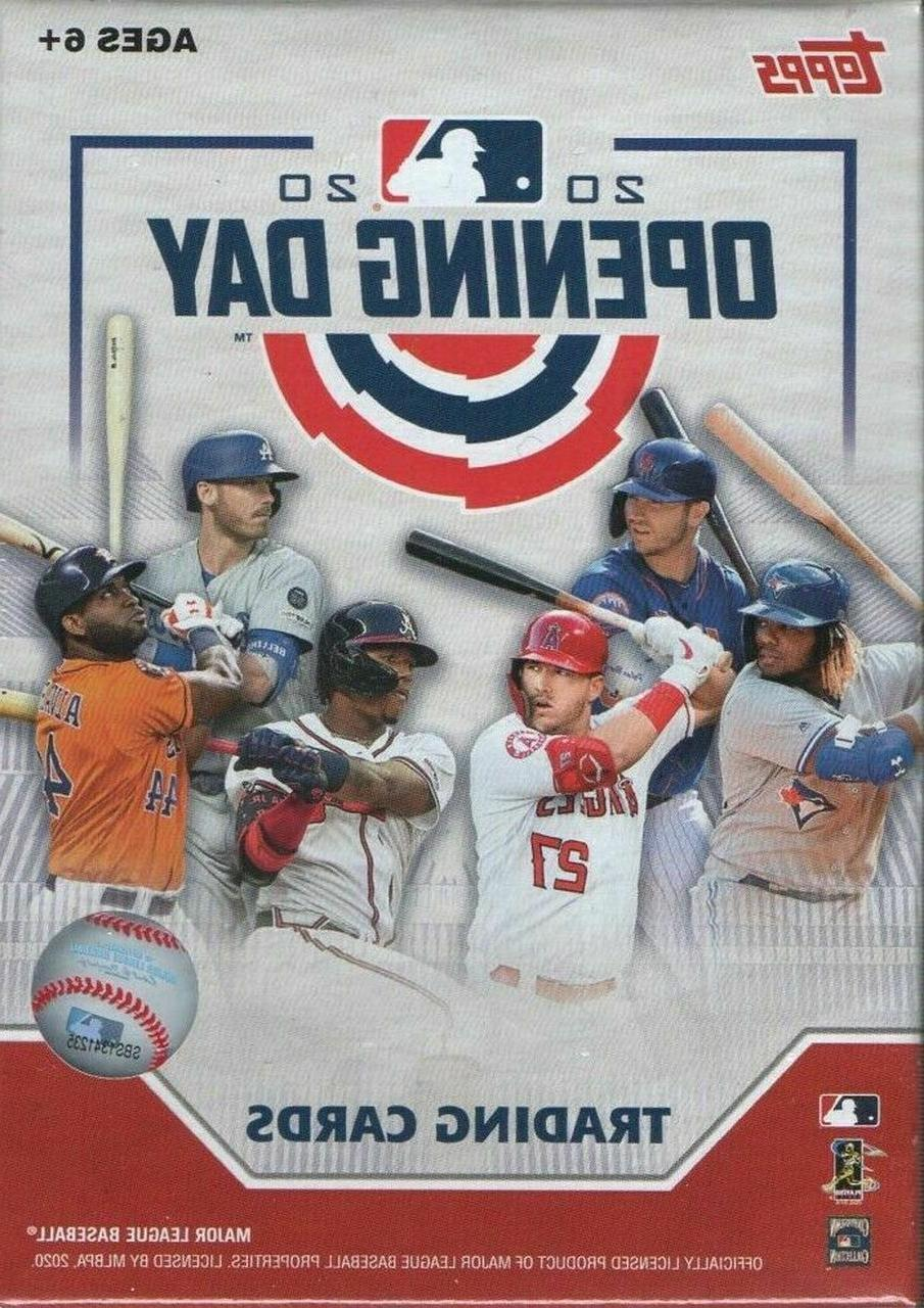 2020 topps opening day insert card singles