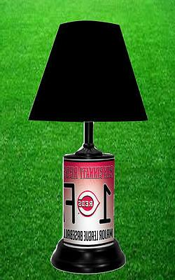 CINCINNATI REDS - MLB LICENSE PLATE LAMP - FREE SHIPPING IN