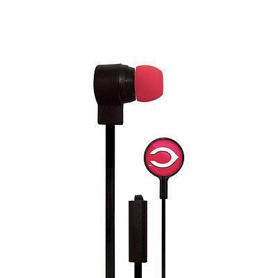 cincinnati reds big logo ear buds new