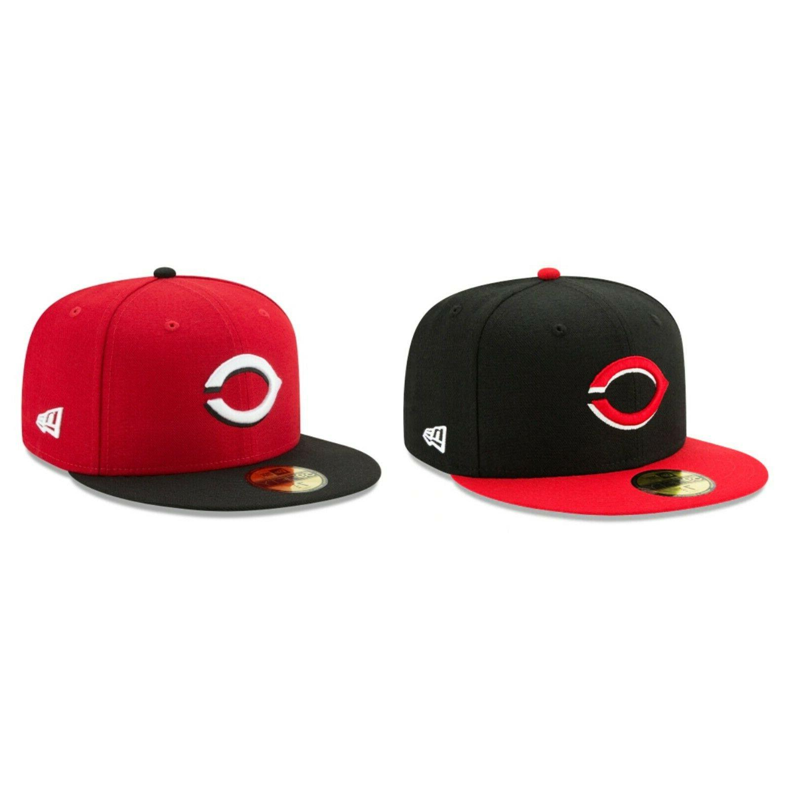 cincinnati reds cin mlb authentic 59fifty fitted
