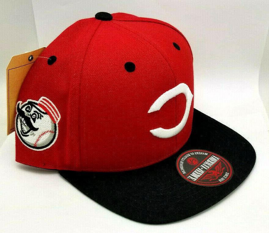 """Cincinnati Reds BLOCKHEAD SNAPBACK"""" Adjustable Hat"""