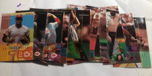mint 1995 cincinnati reds 22 card team