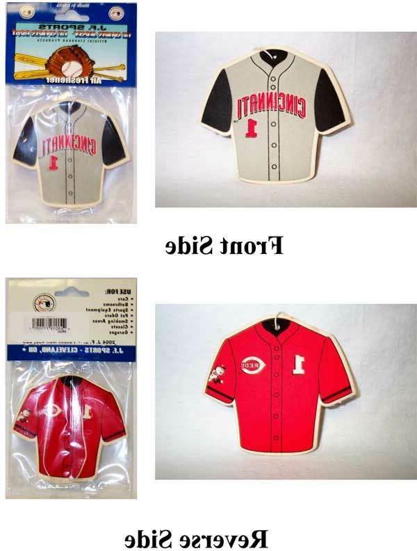 MLB Cincinnati Baseball Jersey Air Freshener Collector Item