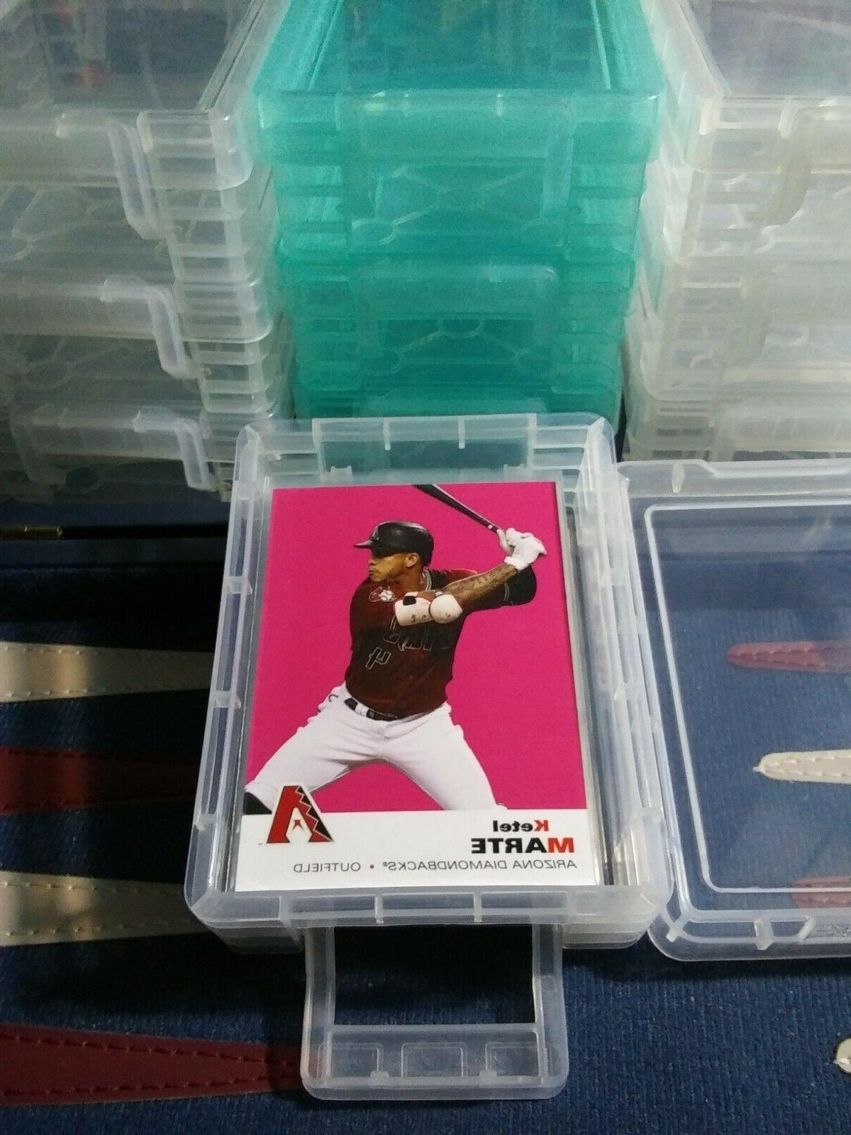 Sports W/Snap-lock - SLEEVED CARDS ! Reds