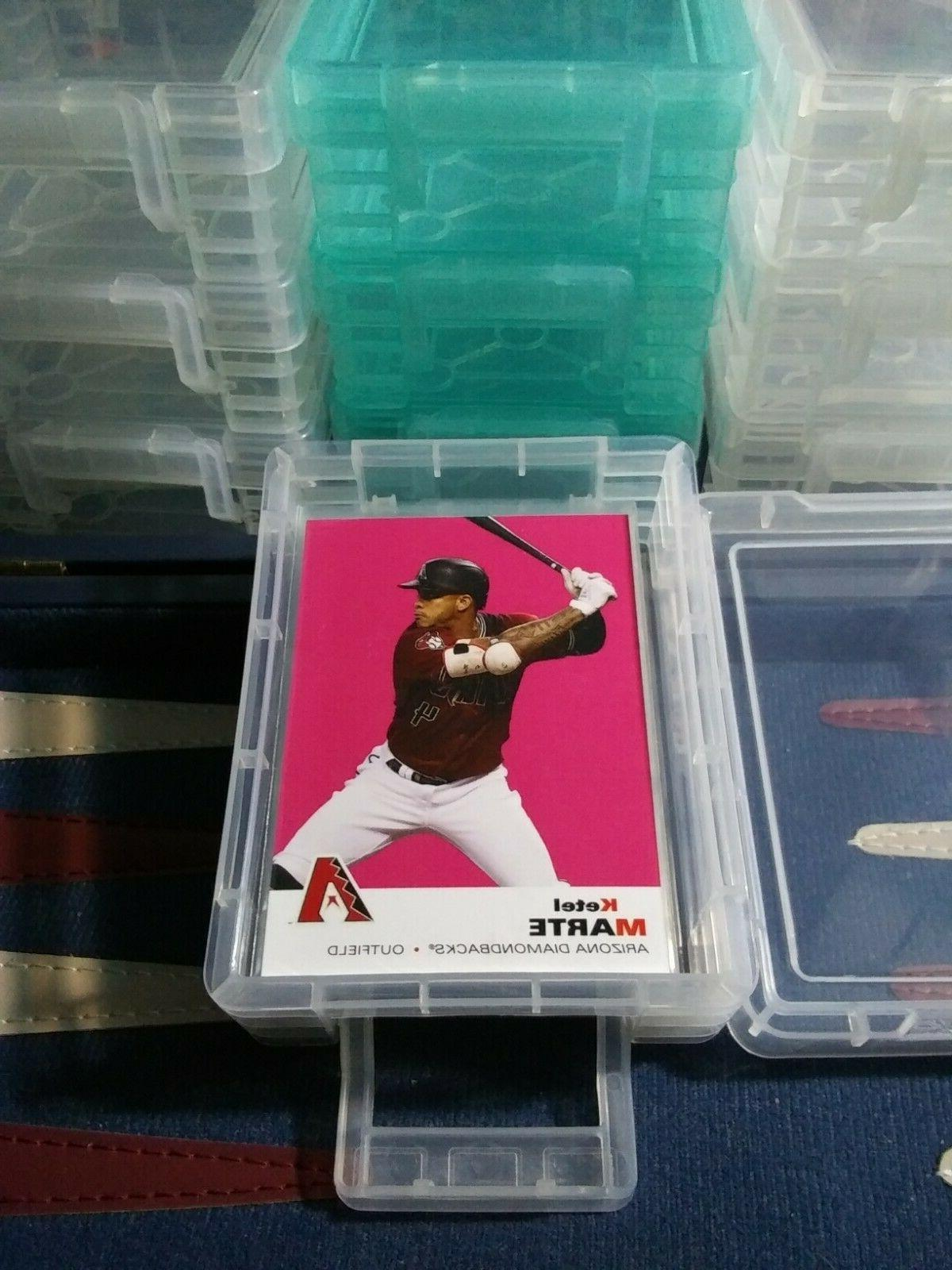 Sports W/Snap-lock - SLEEVED CARDS Reds