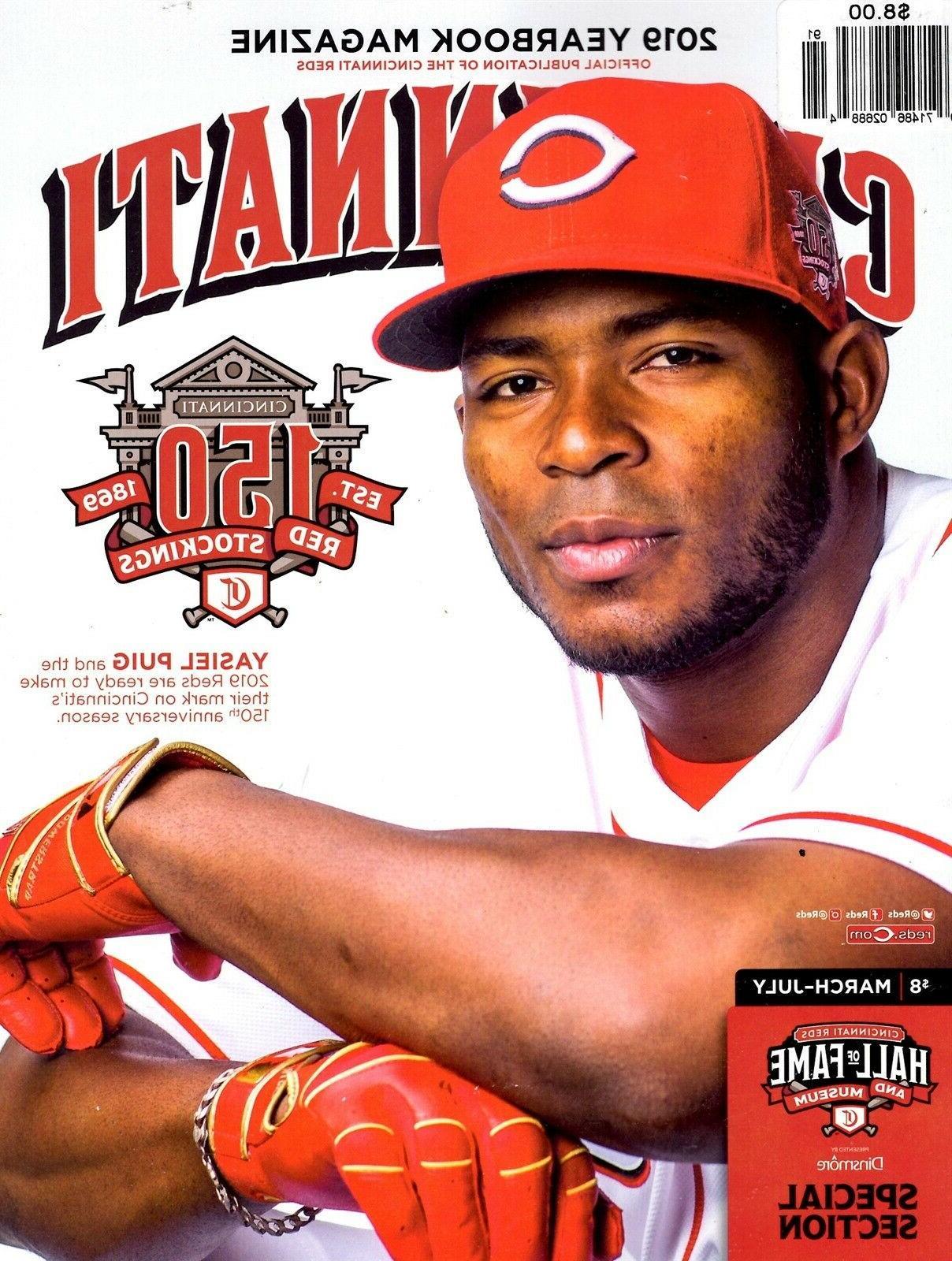 yearbook 2019 mlb baseball cincinnati reds