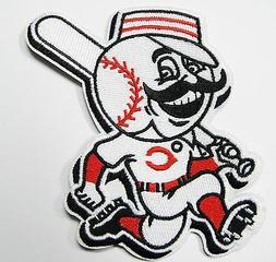 LOT 0F  MLB CINCINNATI REDS  EMBROIDERED BASEBALL PATCH ITEM