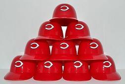 Lot of  CINCINNATI REDS Ice Cream SUNDAE HELMETS New Basebal