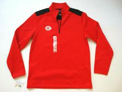 Men's Cincinnati Reds MLB Shirt Pullover Quarter Zip New NWT