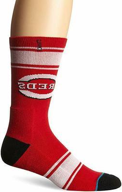 Stance Men's Red Machine MLB Cincinnati Reds Socks SZ: Large