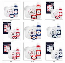 MLB Baby Gift Set Bottle Bib Pacifier by baby fanatic -Selec