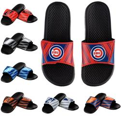 MLB Baseball Mens Legacy Logo Sport Slide Sandals Flip Flops