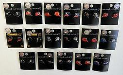MLB Baseball Teams Assorted Wincraft Stud Earrings FREE SHIP
