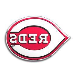 MLB Cincinnati Reds 3D COLOR ALUMINUM LOGO AUTO EMBLEM car t